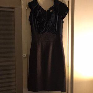 Rebecca Taylor wool and silk dress
